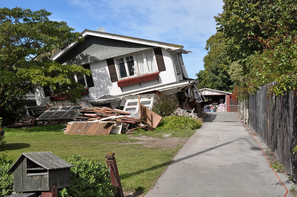 earthquake insurance Camden TN
